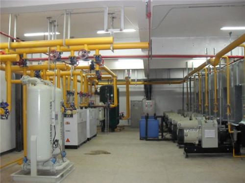空压机房管路安装2