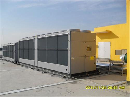 屋顶风冷热泵主机