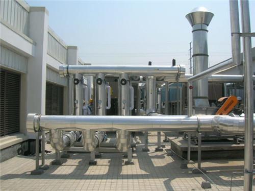 屋顶冷却水管安装