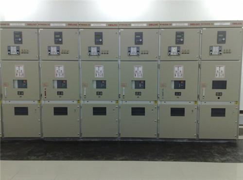 高配室配电柜安装