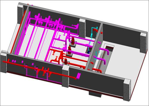 建伟项目消防泵房